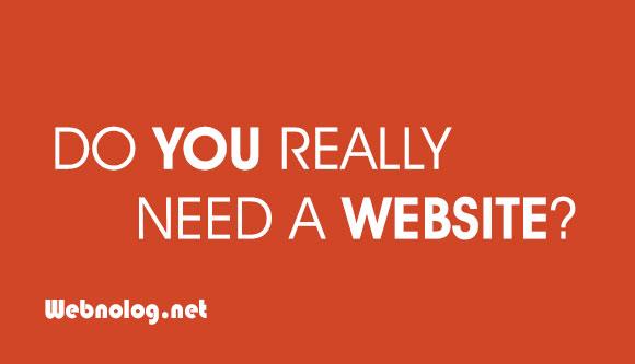 آیا من به یک سایت اینترنتی نیاز دارم؟